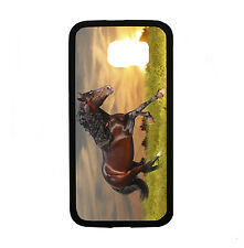Sunset Running Horse for Samsung Galaxy S6 i9700 Case Cover