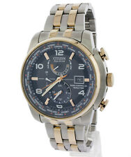 DISPLAY MODEL CITIZEN ECO DRIVE WORLD TIME RADIO CONTROLLED WATCH AT9016-56H