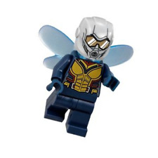 LEGO Marvel Super Heroes Wasp minifigure w/ wings 76109 Quantum Realm 2018 NEW