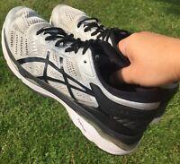 Asics Men's Gel-Kayano 24 Running Sneakers Shoe Size 11 Silver/Black