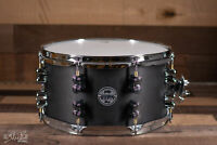 "PDP 13"" x 7"" Maple Snare Drum, Black Wax Finish"