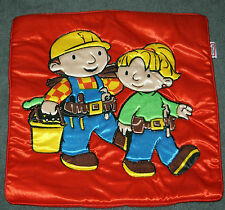 BOB THE BUILDER & WENDY  CUSHION COVER RED  pillow case ABC TV character