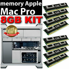 8GB (8x 1GB) DDR2 667 MHZ FB DIMM Apple Mac Pro Quad Core memoria A1186 PC2-5300F