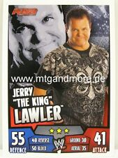 "Slam Attax Rumble-Jerry ""The King"" Lawler-RAW"