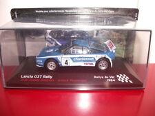 lancia 037 andruet rally du var 1984 1/43 champions français de rallye altaya