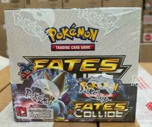 Pokemon TCG XY10 Fates Collide Booster Box x1 Factory Sealed