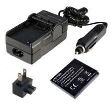 Battery&Charger DE-A91B for PANASONIC Lumix DMC-SZ1 DMC-SZ7 Digital Camera AC/DC