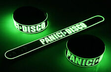 PANIC AT THE DISCO New! Glow in the Dark Rubber Bracelet Wristband  vg380
