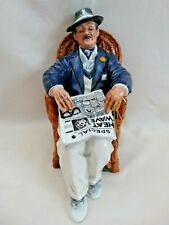 """Royal Doulton Character Figurine- """"Taking Things Easy"""" Hn2677 1974 Made England"""