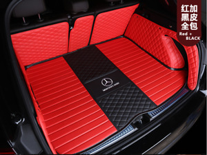 For Mercedes-Benz-GL-GLA-GLB-GLC-GLS-GLK-Class-2000-2021Car trunk mat