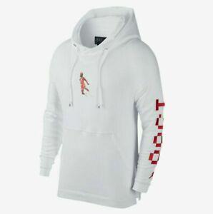 Nike Mens Sportswear Wings Hoodie White 4XL