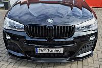 Sonderaktion Spoilerschwert Frontspoiler Cuplippe ABS für BMW X3 F25 M-Paket ABE