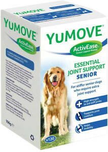 Lintbells YuMOVE SENIOR Dog Joint Supplement for Stiff & Older Dogs 60 Tablets.