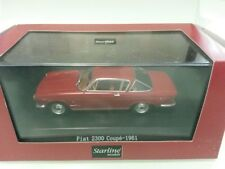 FIAT 2300 COUPE - ANNO 1961 - ROSSA - SCALA 1/43 - STARLINE