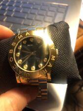 Marc Jacobs Stainless Steel gold 36 mm face Skeleton Waterproof Watch 11407