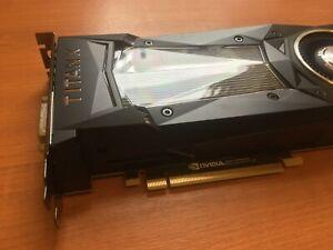 Nvidia GTX Titan X graphics card - unused