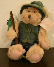 "Russ Bears From The Past ""Montana"" Plush Stuff Animal Toy Fisherman Ret. Noswt"