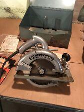 "Antique Black & Decker model No83 8"" Circular saw"