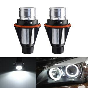 2X LED Angel Eyes Halo Light Bulb For BMW E39 525i 530i 540i M5 E60 525i 525xi