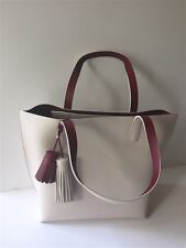 NWT Kate Spade Foster Court Tasha Leather Tote Handbag WKRU3832 Ivory $399 NEW