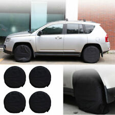 "4x 28"" Wheel Tire Covers Storage Protector for RV AutoTrailer Truck Car Camper"