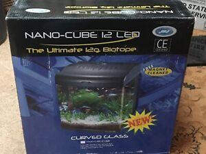 JBJ 12 Gallon Nano Cube LED Aquarium