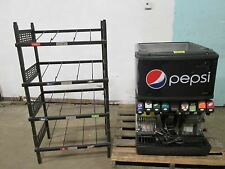 Heavy Duty Commercial Counter Top Lighted 8 Heads Soda Machine + Bnib Rack