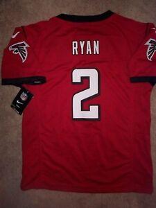 *IRREGULAR* Atlanta Falcons MATT RYAN nfl NIKE Jersey Youth Kids Boys (L-LARGE)
