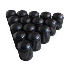 Car Stems Truck 100pcs Black Plastic Wheel Auto Tire Valve Caps Lid Dust Cover