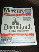BANKSY Dismaland Bemusement Park Weston Mercury Launch Ticket Edition
