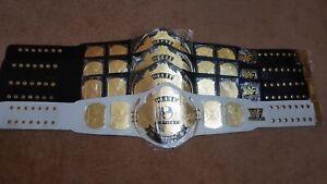 WWF WWE Classic Gold Winged Eagle Championship Belt.Adult size