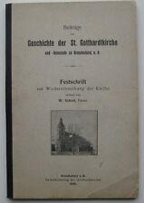 Brandenburg an der Havel Schott St. Gotthardtkirche Festschrift Gotthardt 1800
