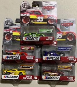 2021 Disney Pixar Cars NASCAR Diecast Lot of 5 Lightning McQueen Storm Racelott