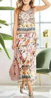 Kaleidoscope Heine Animal Print Long Dress Uk 10 rrp £59 #Box 11