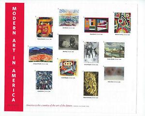 US Scott #4748m MINT/NH Modern Art In America Forever IMPERF SHEET OF 12 SCV $70