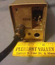 Vintage Used RF Tube Amplifier, 25-50 MC - Metal Case - Military? - Untested