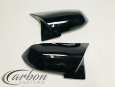 BMW M3/M4 'NEW UPGRADED' Style Gloss Black Mirror Covers 1/2/3/4 F series 2012+