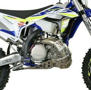 SHERCO BASH PLATE WITH PIPE GUARD SE-R 250/300 2018-2021 LINK GUARD INCLUDING