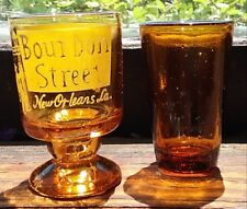 Bourbon Street French Quarters New Orleans, Amber Shotglass & One fromTaiwan