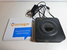 VONAGE Grandstream HT802 2 Port Analog VoIP Telephone Adapter ATA USED