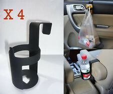4X Coche Montaje De Puerta Multifuncional Taza/puede/Teléfono Soporte Soporte Abridor de botellas