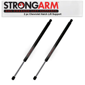2 pc Strong Arm Back Glass Lift Supports for 1995-1999 Chevrolet Tahoe Body rk