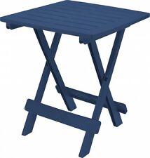 Beistelltisch Klapptisch Campingtisch Gartentisch Kunststoff Blau 0710