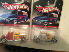 Hot Wheels 2 Convoy Custom Yellow, Red And Silver and Yellow and Silver