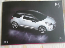 Citroen DS3 range brochure Nov 2014