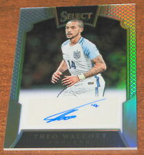 2016-17 Select Theo Walcott Signatures Prizm /149 Auto England Autograph Silver