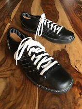 Adidas Vespa Design Black Leather Trainers Mens US Size 10