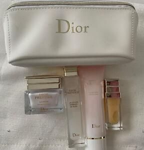 Dior Prestige 4 Piece Set With Makeup Bag NEW