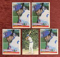 Lot of (5) 1984 Donruss JOE CARTER Rookie #41 1983 Thron Apple Valley RC Cubs🔥