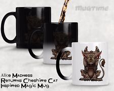Alice madness returns Cheshire Cat Custom Morphing Magic Mug Tasse à café 330 ml